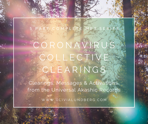 'Coronavirus Collective Clearings' Complete 5 Part Akashic MP3 Series