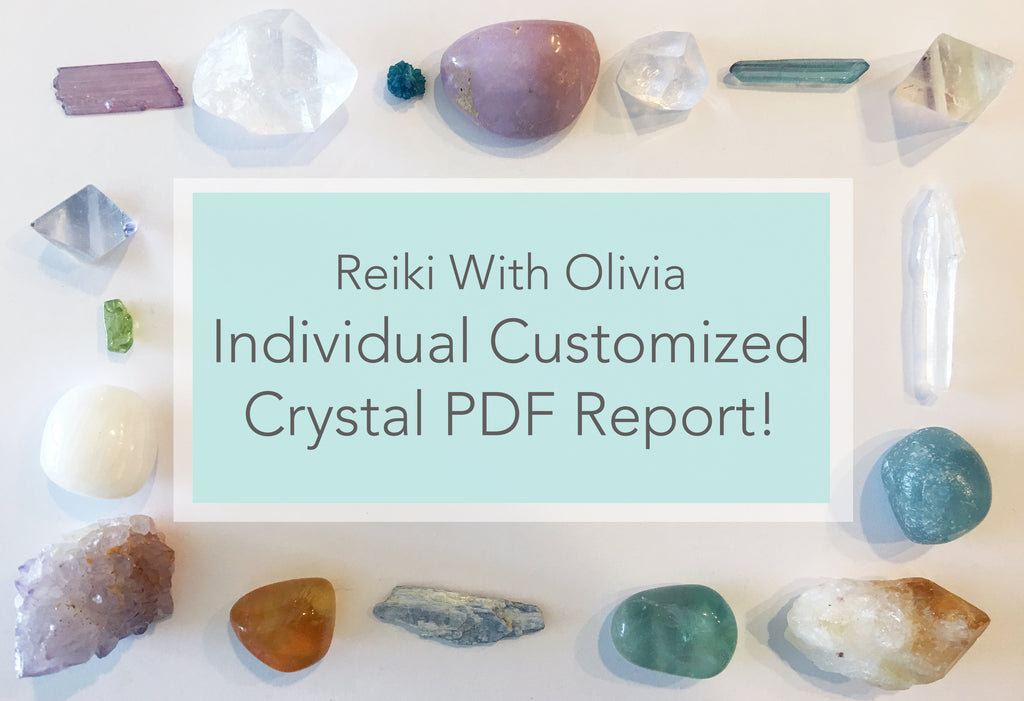 Individualized Custom Crystal PDF Report!