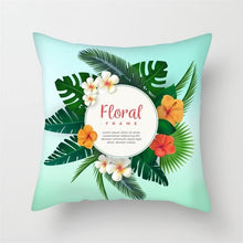 Load image into Gallery viewer, Fuwatacchi Leaf Scenery Printed Pillow Cover
