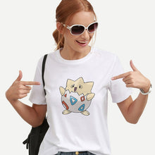 Load image into Gallery viewer, Showtly Women's Cartoon T-shirt