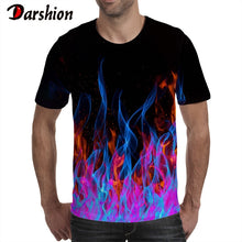Load image into Gallery viewer, Darshion Red Flame Men Tshirt