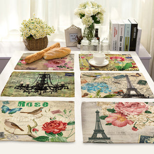 Flower Pattern Food Mat