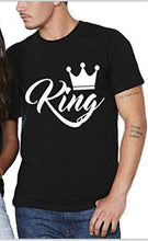 Load image into Gallery viewer, King Queen Couples T Shirt