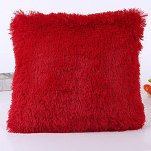 Load image into Gallery viewer, Fur Plush Throw Pillow Case Cover