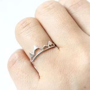 Romantic Princess Crown Knuckle Rings
