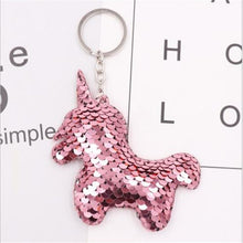 Load image into Gallery viewer, Unicorn Key Chain