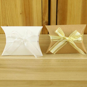Kraft Paper Pillow Bag