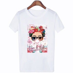 Funny Short Sleeves Woman Shirts