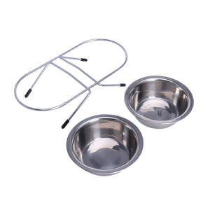 Double Food Bowl
