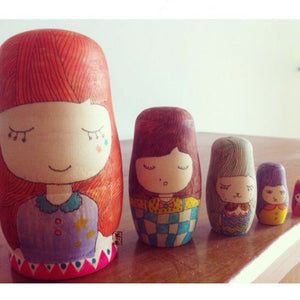 Wooden Educational Dolls Toys