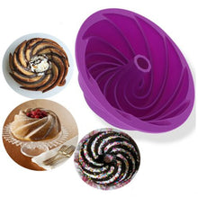 Load image into Gallery viewer, Big Swirl Shape Cake Mold