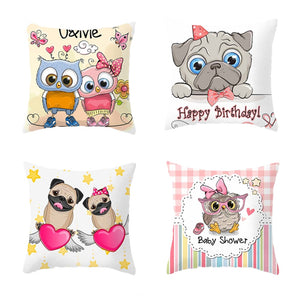 Lovely Cartoon Pillow Case
