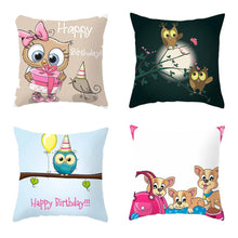 Load image into Gallery viewer, Lovely Cartoon Pillow Case