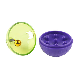 Interactive Dog Cat Food Treat Ball