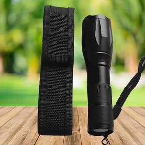 Outdoor Camping Hiking Safe Flashlight Pouch