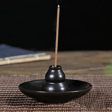 Load image into Gallery viewer, Round Ceramic Incense Burner Holder