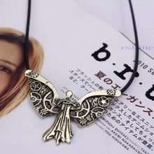 Load image into Gallery viewer, Tessa's Angel Pendant Necklace