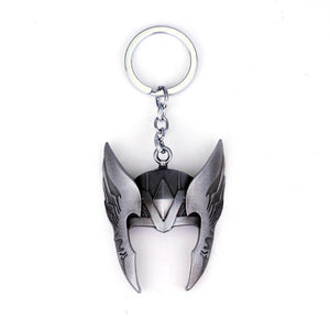 Mask Helmet Key Chain