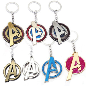 Marvel Avengers Logo Key Chain
