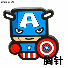 Load image into Gallery viewer, Marvel Superhero Brooch Toys