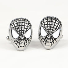 Load image into Gallery viewer, Spiderman Cuff Links