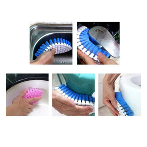 Flexible Hand-held Cleaning Brush