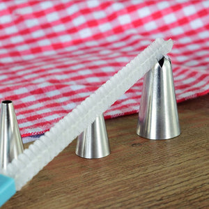 Icing Piping Tips Nozzle Brush