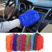 Load image into Gallery viewer, Fiber Wear Resistance Car Wash Gloves