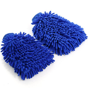Fiber Wear Resistance Car Wash Gloves