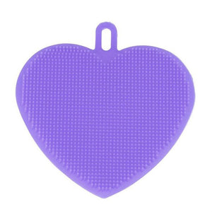 Heart Shape Cleaning Brush