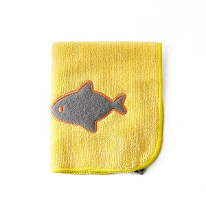 Cartoon Embroidery Kitchen Scouring Pad