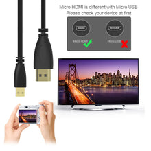 Load image into Gallery viewer, 1M Micro USB To HDMI
