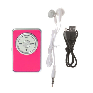 Mini Clip Music Media Player