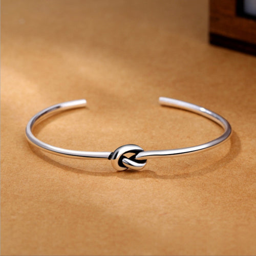 Love Knot Sterling Bracelet