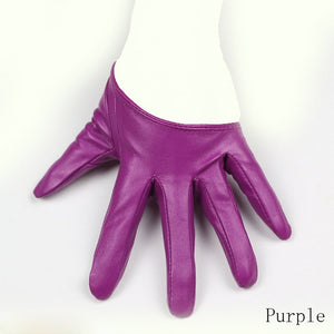 Long Keeper Sexy Leather Gloves