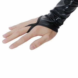 Metallic Feel Gloves