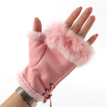 Load image into Gallery viewer, Fur Gloves
