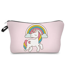 Load image into Gallery viewer, 3D Unicorn Printing Makeup Bags