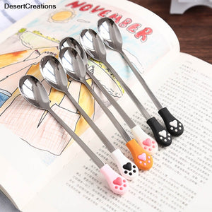 Cat Claw Shaped Stirring Spoon