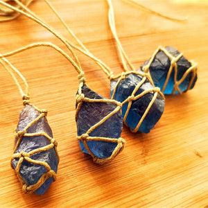 Blue-green Stone Fluorite Ornament