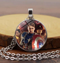Load image into Gallery viewer, Captain America Necklace