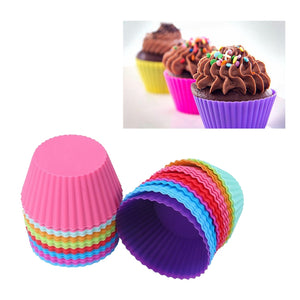 Round Shaped Silicon Cake Baking Cup