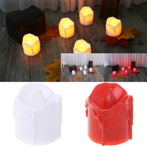 Plastic Battery Powered LED Candle