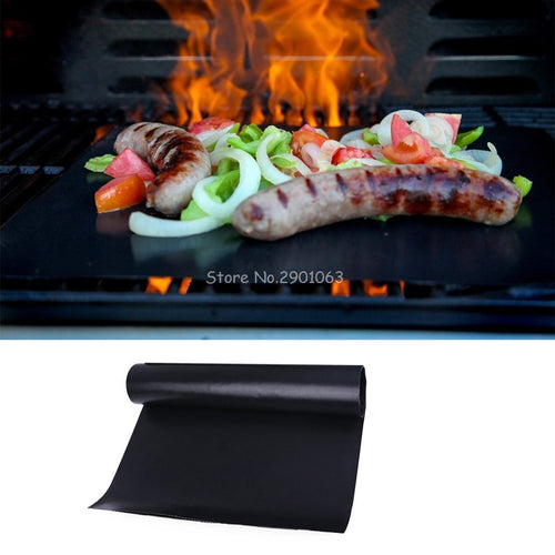 Reusable Teflon Non-stick Barbecue Mat