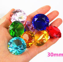 Load image into Gallery viewer, 30mm Crystal glass Diamond Home Decor  ornaments FengShui Ornaments Decorative Ball For wedding miniatures Accessories Gifts