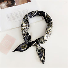 Load image into Gallery viewer, Square Scarf Hair Tie