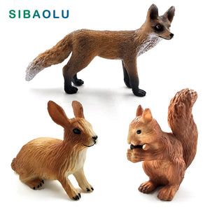 Simulation Little Fox, Rabbit and Squirrel Fairy