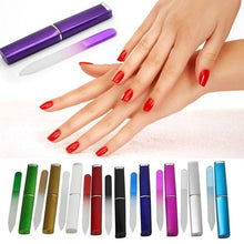 Load image into Gallery viewer, High Quality Crystal Glass Nail File