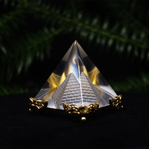 Crystal Pyramid Model