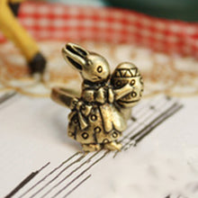 Load image into Gallery viewer, Vintage Cute Rabbit Finger Rings